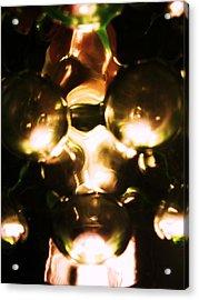 Warrior Of Light Acrylic Print by S Patrick Hagen