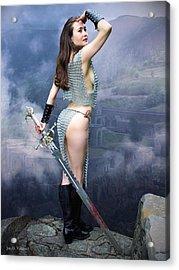 Warrior Ruins Acrylic Print