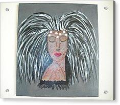Warrior Woman #2 Acrylic Print by Sharyn Winters
