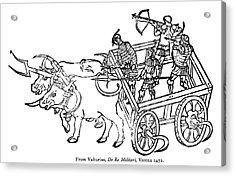 Warriors, 1472 Acrylic Print by Granger