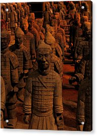 Acrylic Print featuring the photograph Warriors by Patricia Januszkiewicz