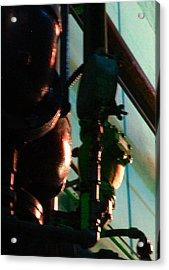 Warriors Watch Sears Mechanicals Acrylic Print