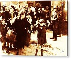 Warsaw Ghetto 1943 Acrylic Print