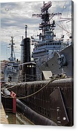 Warship Parking Only Acrylic Print