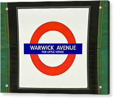 Acrylic Print featuring the photograph Warwick Station by Keith Armstrong