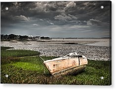 Washed Ashore Acrylic Print by Andrew Crispi