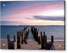 Washed Away Acrylic Print by Matthew Grice
