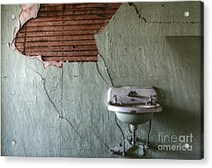 Washed Up Acrylic Print by Deena Otterstetter