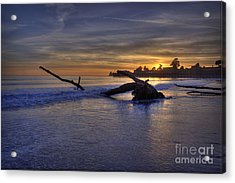 Washed Up Acrylic Print