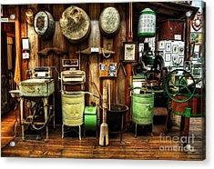 Washing Machines Of Yesteryear Acrylic Print