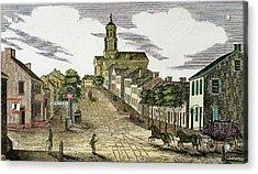 Washington, 1843 Acrylic Print