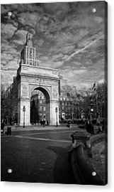 Acrylic Print featuring the photograph Washington Arch by Ben Shields