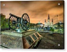 Washington Artillery Park Acrylic Print