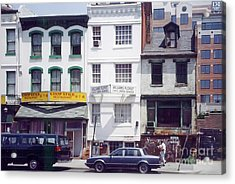 Washington Chinatown In The 1980s Acrylic Print