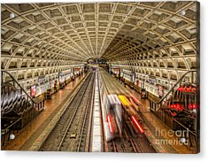 Washington Dc Metro Station Xi Acrylic Print