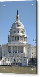 Washington Dc - Us Capitol - 01131 Acrylic Print by DC Photographer