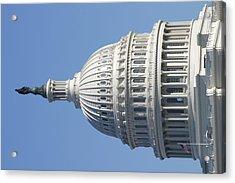 Washington Dc - Us Capitol - 011310 Acrylic Print by DC Photographer