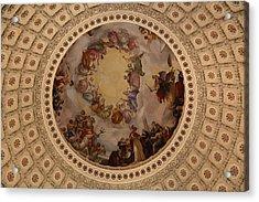Washington Dc - Us Capitol - 011323 Acrylic Print by DC Photographer
