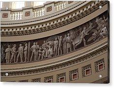 Washington Dc - Us Capitol - 011326 Acrylic Print by DC Photographer