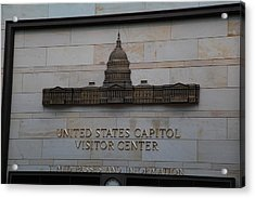 Washington Dc - Us Capitol - 01133 Acrylic Print by DC Photographer