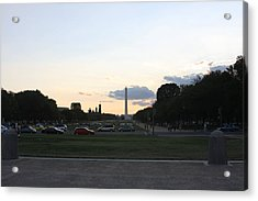 Washington Dc - Washington Monument - 01132 Acrylic Print by DC Photographer