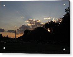 Washington Dc - Washington Monument - 01134 Acrylic Print by DC Photographer