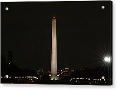 Washington Dc - Washington Monument - 01135 Acrylic Print