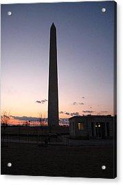 Washington Dc - Washington Monument - 12122 Acrylic Print by DC Photographer