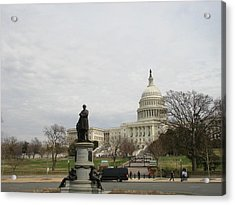 Washington Acrylic Print by Gerald Dobbin