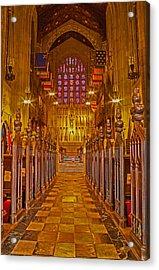 Washington Memorial Chapel Altar Acrylic Print