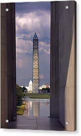 Washington Monument And Capitol 2 Acrylic Print by Stuart Litoff