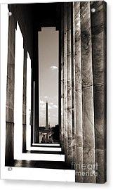 Washington Monument Acrylic Print