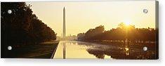 Washington Monument Washington Dc Acrylic Print