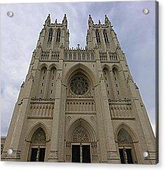Washington National Cathedral - Washington Dc - 01131 Acrylic Print