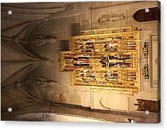 Washington National Cathedral - Washington Dc - 0113100 Acrylic Print by DC Photographer