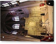 Washington National Cathedral - Washington Dc - 0113101 Acrylic Print by DC Photographer