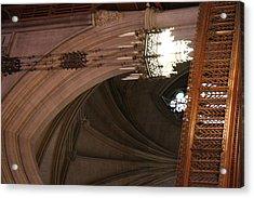 Washington National Cathedral - Washington Dc - 0113102 Acrylic Print