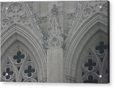 Washington National Cathedral - Washington Dc - 0113110 Acrylic Print