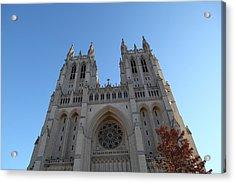 Washington National Cathedral - Washington Dc - 0113116 Acrylic Print by DC Photographer