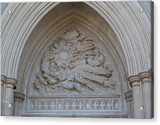 Washington National Cathedral - Washington Dc - 0113117 Acrylic Print