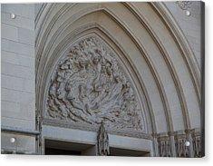 Washington National Cathedral - Washington Dc - 0113118 Acrylic Print