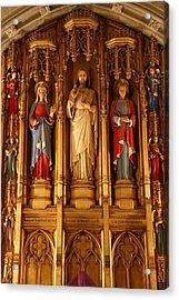 Washington National Cathedral - Washington Dc - 011321 Acrylic Print by DC Photographer