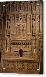 Washington National Cathedral - Washington Dc - 011324 Acrylic Print by DC Photographer