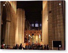 Washington National Cathedral - Washington Dc - 011335 Acrylic Print