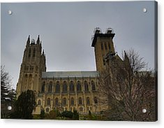 Washington National Cathedral - Washington Dc - 011347 Acrylic Print