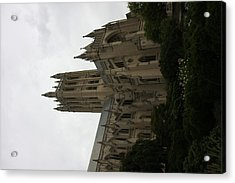 Washington National Cathedral - Washington Dc - 011351 Acrylic Print by DC Photographer