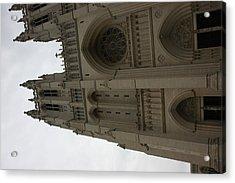 Washington National Cathedral - Washington Dc - 011354 Acrylic Print by DC Photographer