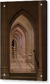 Washington National Cathedral - Washington Dc - 01136 Acrylic Print by DC Photographer