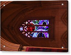 Washington National Cathedral - Washington Dc - 011380 Acrylic Print by DC Photographer