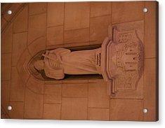 Washington National Cathedral - Washington Dc - 011386 Acrylic Print by DC Photographer
